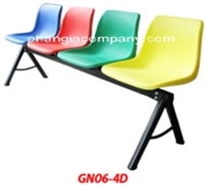 Hình ảnh củaGhế băng chờ 04 - GN06-4D