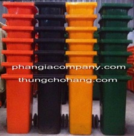 Thư mục hình ảnh Thùng rác nhựa HDPE